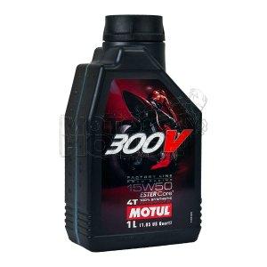 Aceite Para Motocicleta Motul 300v 4t 15w50 1 Lt