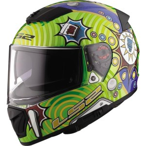 Casco Integral P/ Motociclismo Ls2 Ff390 Breaker Pinball