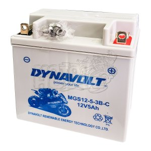 Bateria De Gel Para Motocicleta Dynavolt 12n5-3b (yb5l-b)