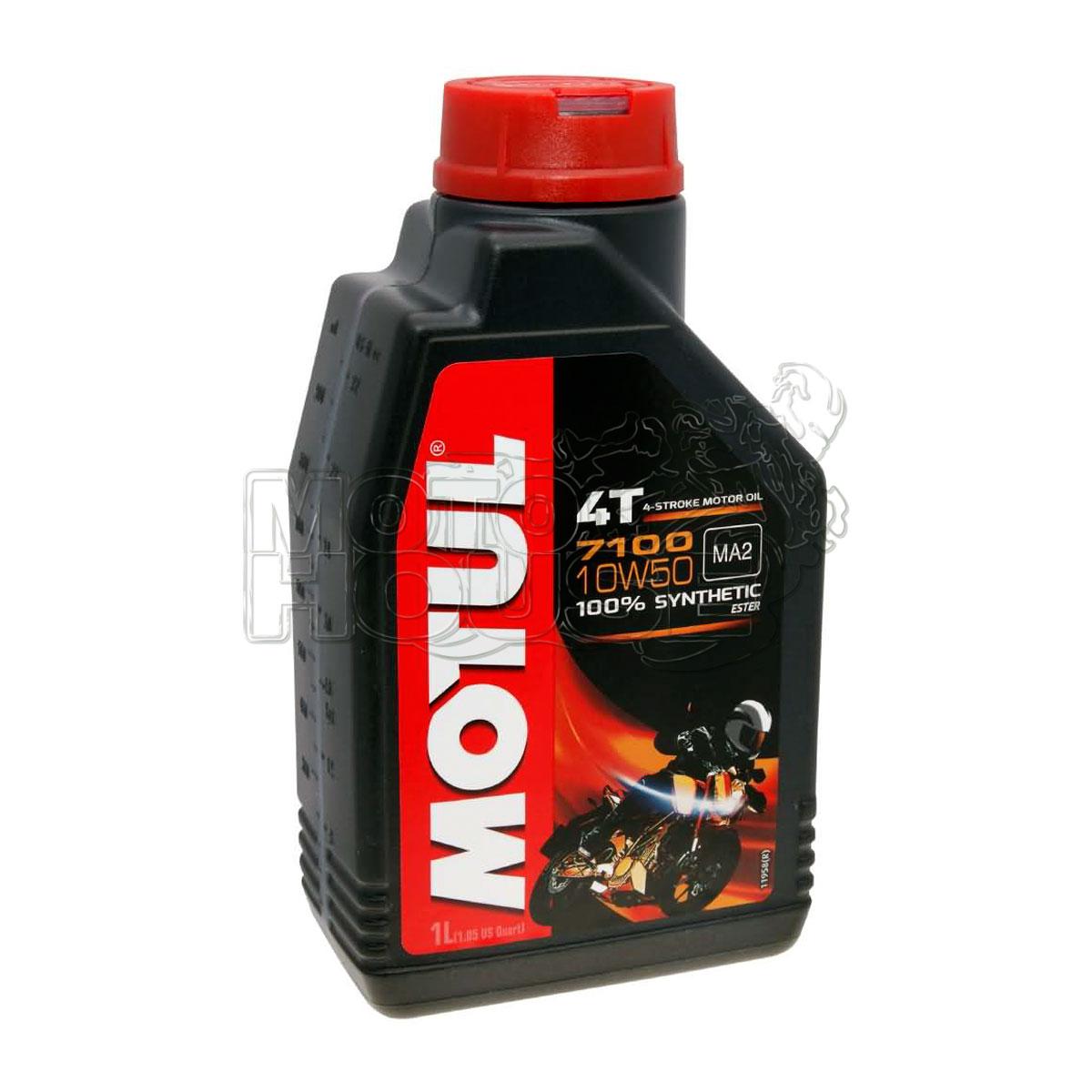 Aceite Para Motocicleta Motul 4t 7100 10w50 1 Lt
