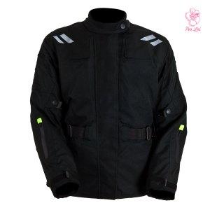 Chamarra De Motociclismo Para Dama Tuono Mod. Asis Amarillo