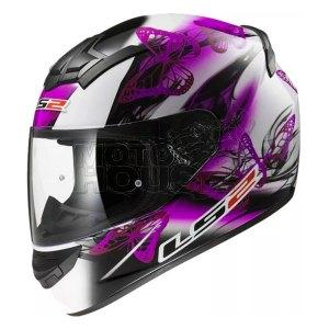 Casco P/ Motociclismo Integral Ls2 Ff352 Rookie Flutter Mora