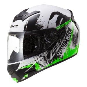 Casco P/ Motociclismo Integral Ls2 Ff352 Rookie One Verde