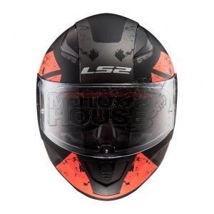 Casco Integral Ls2 Ff353 Rapid Deadbolt Negro/naranja