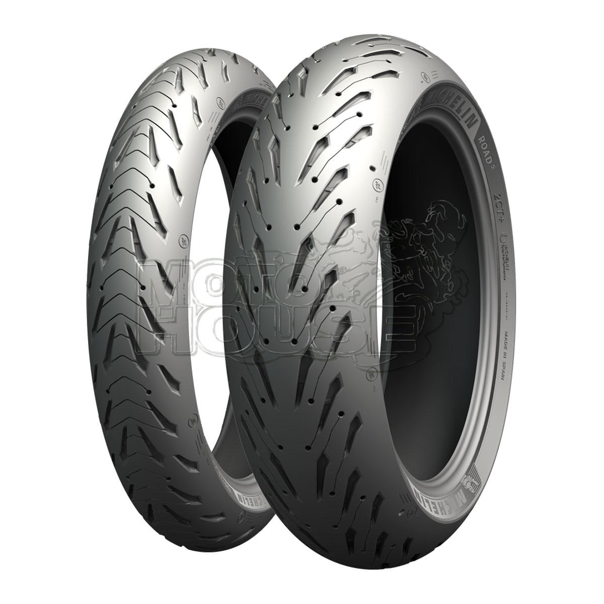 Llanta Para Moto Michelin Road 5 120/70 Zr 17 58w