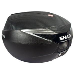 Baul / Maletero Para Motocicleta Shad Sh39 Carbono 39 Lt.