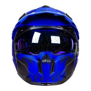Casco Modular Mt Helmets Streetfighter Darkness Azul