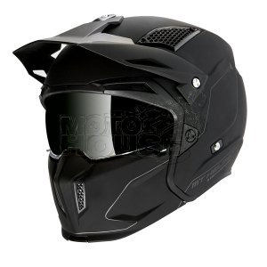Casco Modular Mt Helmets Streetfighter Sv Solid Negro