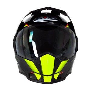 Casco Motociclismo Doble Prop. Suomy Mx Tourer Amarillo