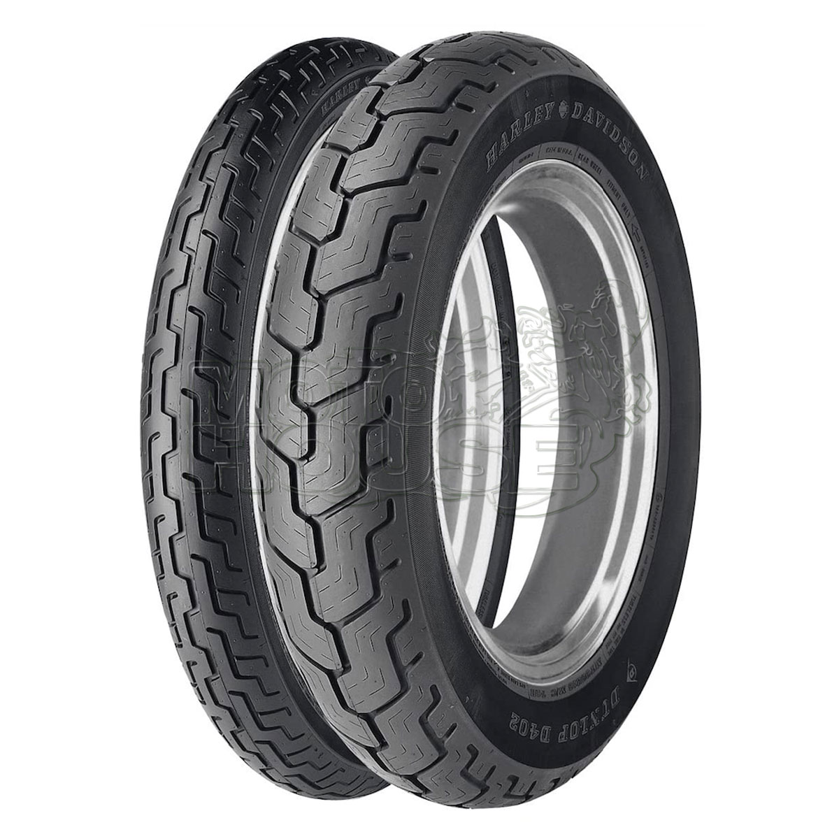 Llanta P/ Moto Dunlop D402 Mt90b16 (130/90-16) 74h