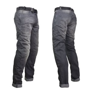 Pantalon P/Motociclismo C/Protecciones Modelo Legend Gris PMJ