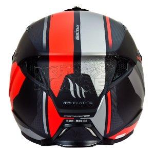 Casco Modular Mt Helmets Streetfighter Sv Twin Rojo