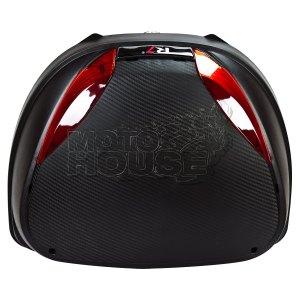Baul / Maletero Para Motocicleta R7 Mod. P01 42 Lt Cap.