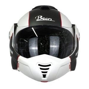 Casco Abatible B702 Beon Skull Blanco/gris