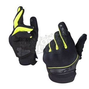 Guante Para Motociclismo Ls2 Mod. Dart Negro/amarillo