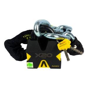 Cadena C/ Candado De Seguridad Motocicleta Auvray X20 170 Cm