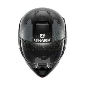 Casco Abatible Shark Evojet Vyda Negro/gris