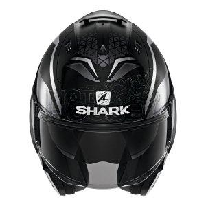Casco Abatible Shark Evo Es Yari Negro Mate