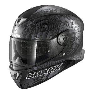 Casco Integral Shark C/ Luz Led Skwal 2 Switch Rider