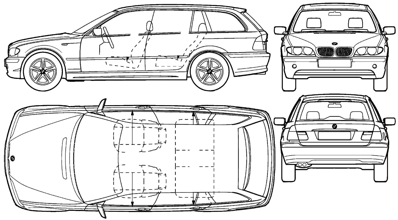 Bmw 3 Series Touring E46 On Motoimg