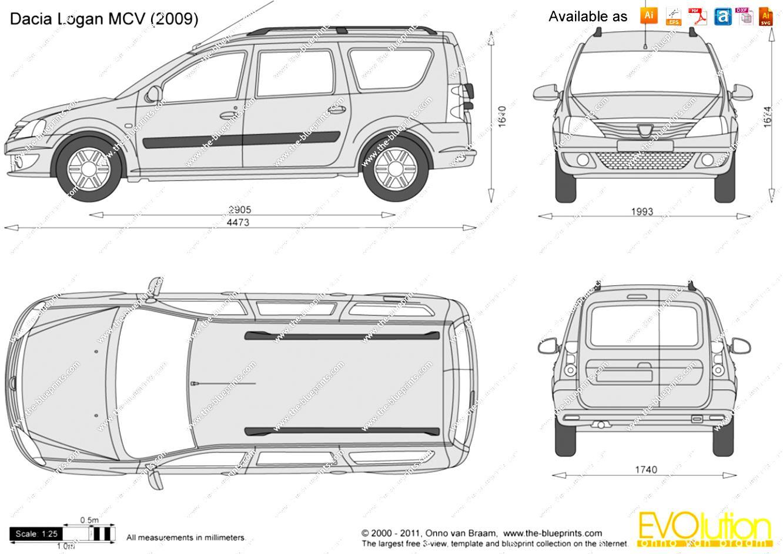 Dacia Logan Mcv On Motoimg