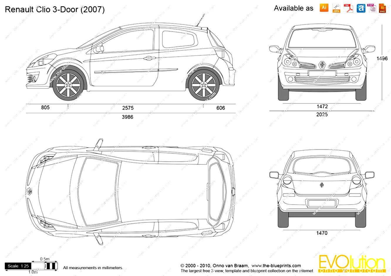 Renault Clio 3 Doors On Motoimg