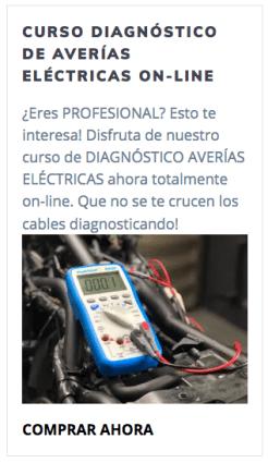 Curso online Diagnóstico de averías eléctricas en motocicletas GA Academy