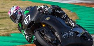 Kalex Triumph testes Valencia