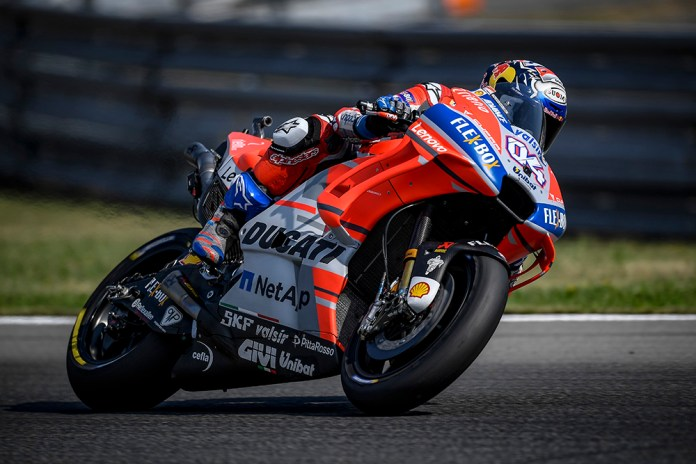 Andrea Dovizioso GP Rep Checa qualif