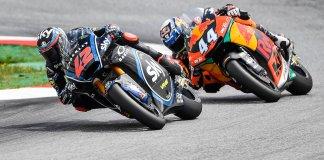 Francesco Bagnaia e Miguel Oliveira GP Áustria