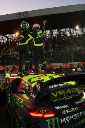 Valentino Rossi e Carlo Cassina