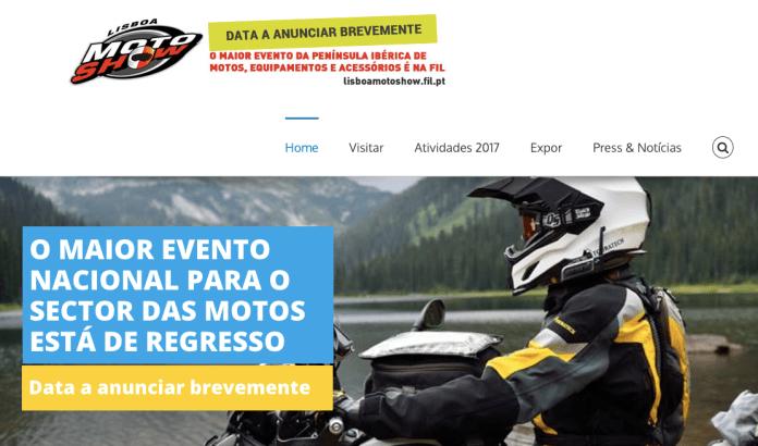 Lisboa Motoshow cancelado