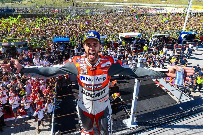 GP SÃO MARINO - Andrea Dovizioso - Vencedor 2018