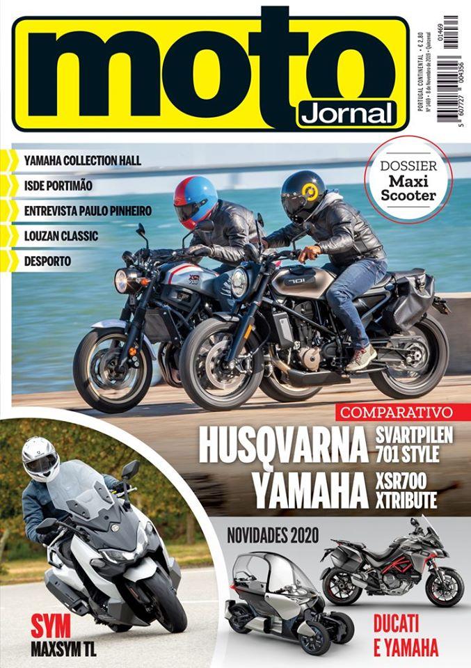 Capa Revista Moto Jornal 1469