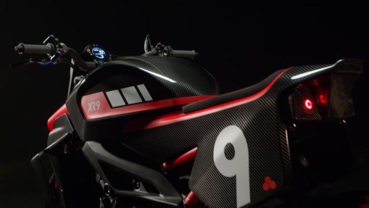 Yamaha Yard Built XR9 Carbona