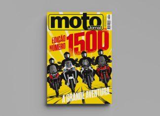 Capa da Revista motojornal 1500