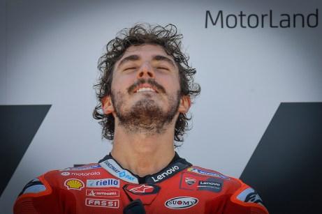 Francesco Bagnaia Aragão race