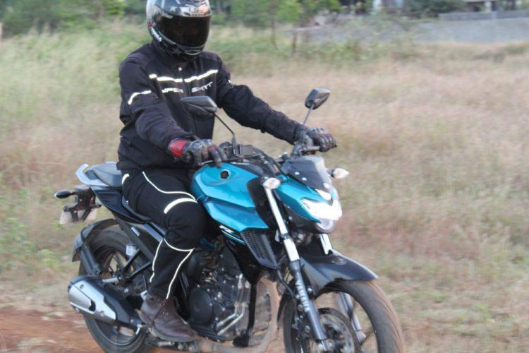 suhas kumbhar Cafe Racer riding Denims