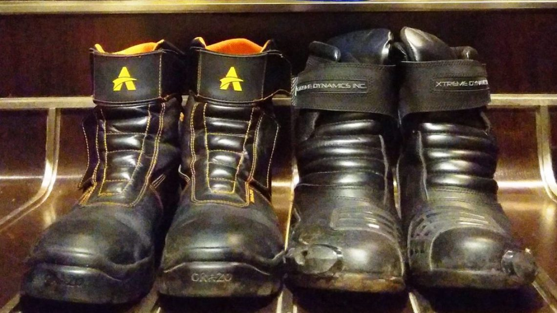 Orazo Motorcycling Boots & Xtreme Dynamics Inc review