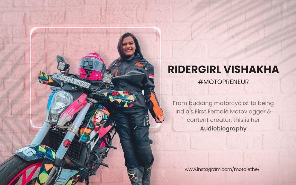 Ridergirl Vishakha – The Audiobiography