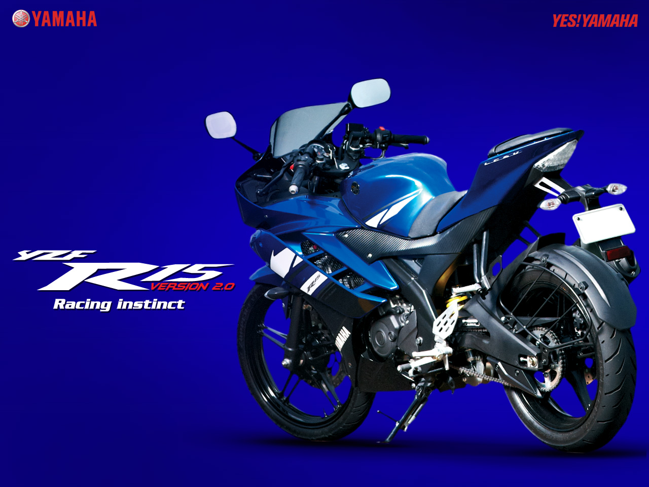 2012 yamaha yzf-r15 version 2.0 in india [wallpaper, colour and