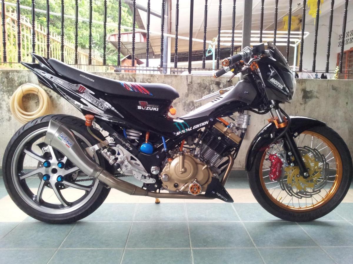 Suzuki Raider Cover