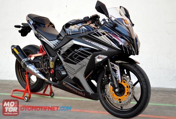 Modified Kawasaki Ninja 250R 2013 - MotoMalaya