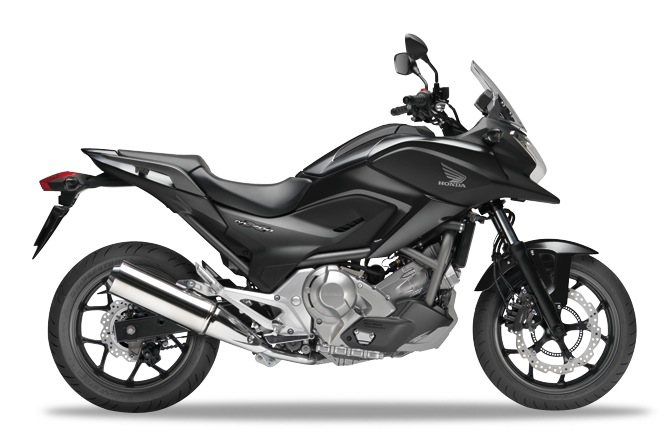 Honda NC700X Darkness Black Metallic