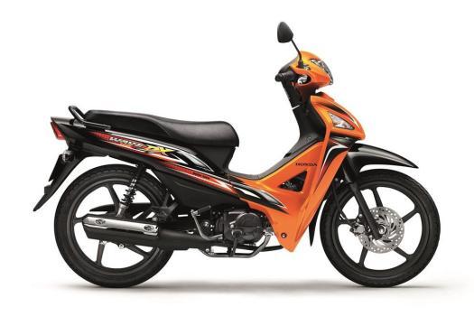Wave DX110_Coral Orange Metallic