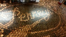 The counter at Penny's