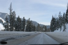 Snake River Canyon (Check out those road conditions)