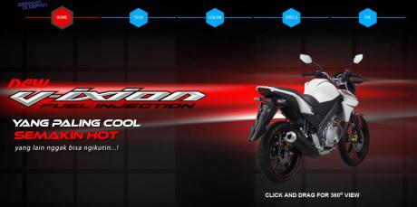 New-Vixion-Official-Site
