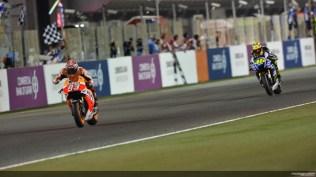 Qatar 2014, Rossi vs Marquez