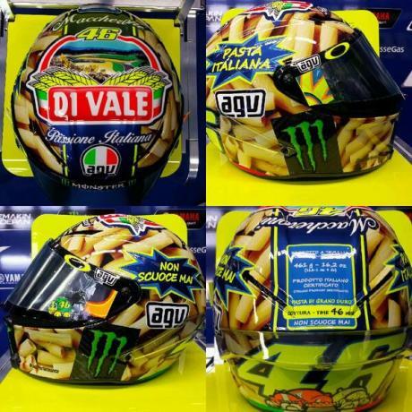 Spesial Helmet GP Mugello 2014 - Vale Rossi